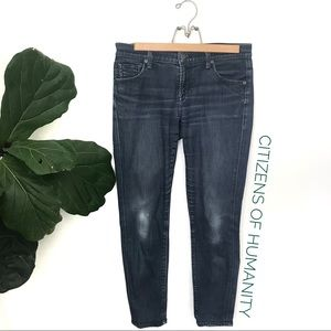 Citizens of Humanity Phantom Skinny Cropped Jeans
